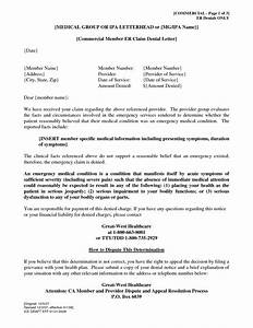 best photos of sample letter denying a claim insurance With insurance denial appeal letter template