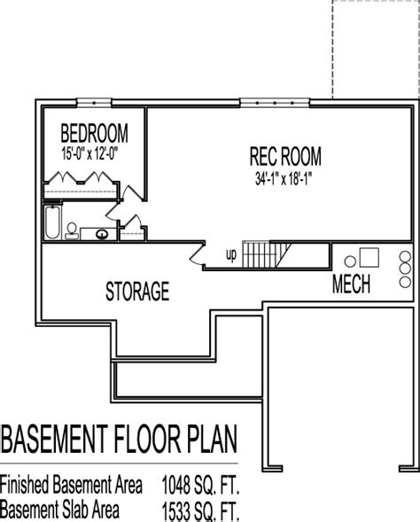 one house plans with basement 3 bedroom house plans with basement smalltowndjs com