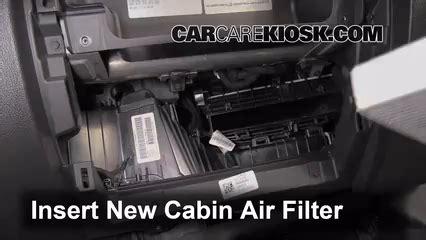 chevrolet silverado  cabin air filter check