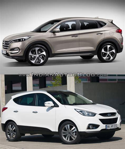 2016 Hyundai Tucson Vs Hyundai Ix35