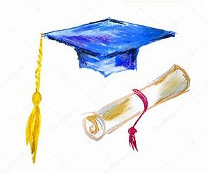Graduation cap and diploma — Stock Photo #16763643