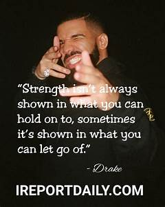 Drake Song Quotes | QUOTES OF THE DAY