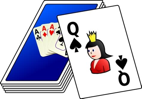 cards deck clip art  vector  open office drawing svg