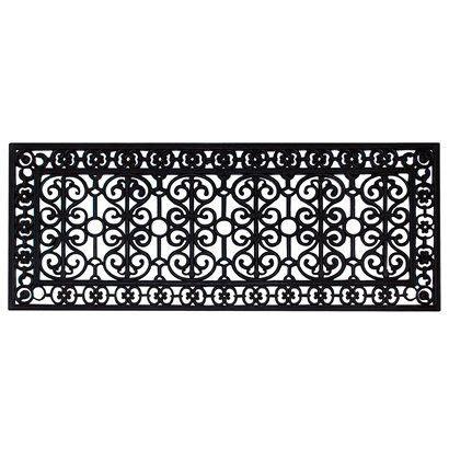 Black Rubber Doormat by Smith Hawken 174 Decorative Black Rubber Door Mat Room