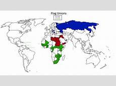 Flag unions in the World More flag maps >> Maps on the Web