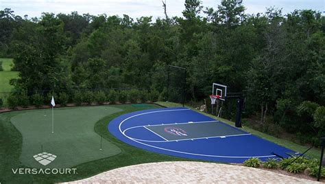 Backyard Basketball Court Ideas Marceladickcom
