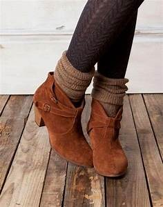 Ankle Boots With Leg Warmers And Pattered Leggings | Runway Fashion | Pinterest | Leg warmers ...