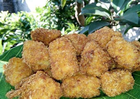 Dengan menambahkan kornet atau sayuran di dalamnya, nugget yang kamu buat tentu akan lebih lezat. Resep Nugget Tahu Sayur oleh nadila amalia - Cookpad