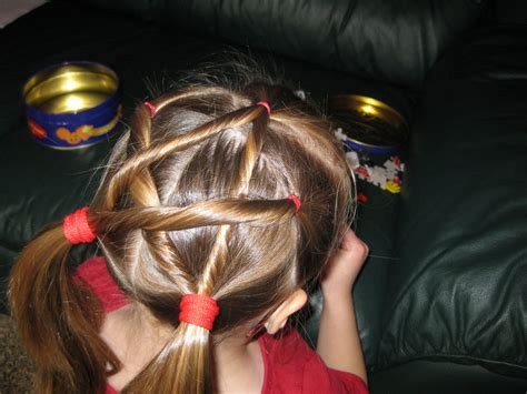 hairdo   lesson  twisted star hairstyle