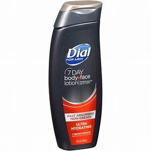 Dial U00ae For Men 7 Day Ultra Hydrating Body   Face Lotion 12