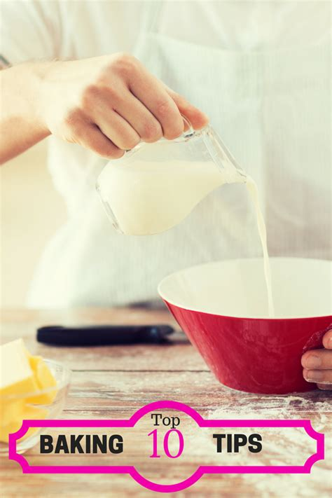 My Top 10 Baking Tips And Tricks