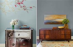 These hues are cool for Best brand of paint for kitchen cabinets with wall art canada