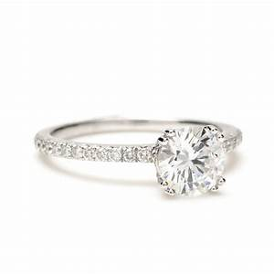 wedding favors engagement ring with diamond band twisted With solitaire ring with diamond wedding band