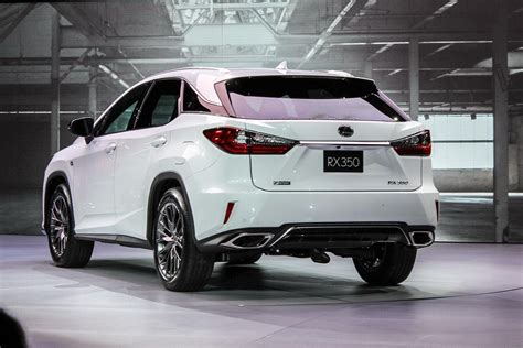 lexus rx 2016 2016 lexus rx specs pictures performance news