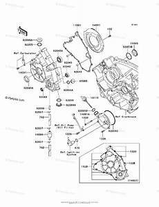 Kawasaki Atv 2006 Oem Parts Diagram For Engine Cover S