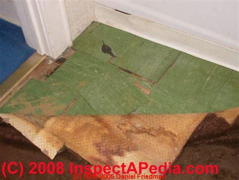 airborne asbestos release  tile mastics cutback