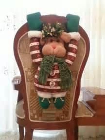decoracion sillas navidad  como organizar la casa