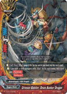 crimson battler drum bunker dragon future card
