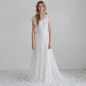 Casual style lace wedding dress styles of wedding dresses for Casual lace wedding dress