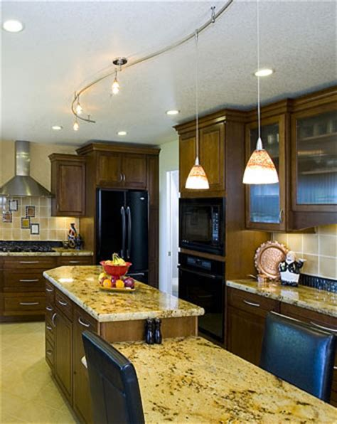 kitchen lights ideas 3 ideas for kitchen track lighting with different themes