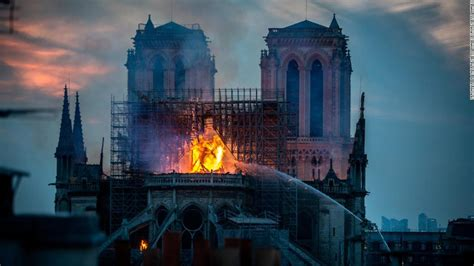 notre dame fire started   center   cathedrals