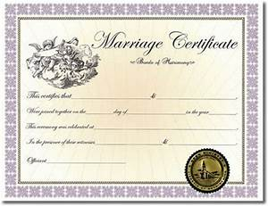 Ministry Resume Templates Home Certificates Classic Marriage Certificate