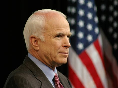 John McCain reacts to protests in Romania