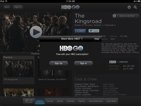 download hbo go app for android