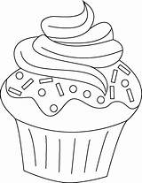 Cupcake Coloring Para Cupcakes Colorear Dibujos Pages Birthday Google Printable Con Buscar Stamps Adult Template Painting Digi Food Drawing Sheets sketch template