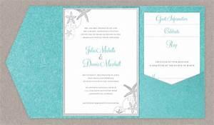 diy beach wedding invitations do it your self With diy wedding invitation kits beach theme