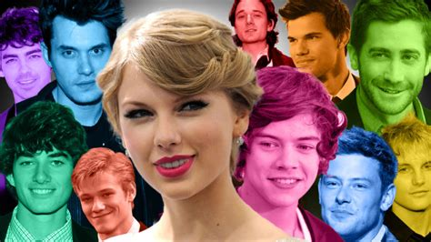 taylor swift dated   history    men