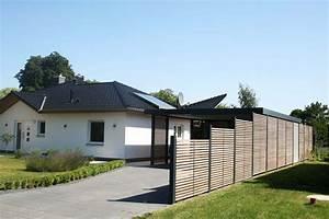 Holz Und Blech : design metall carport sichtschutzzaun aus stahl holz blech rostock deutschland stahlzart ~ Frokenaadalensverden.com Haus und Dekorationen