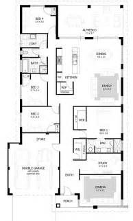 house plans with 4 bedrooms best 25 4 bedroom house ideas on 4 bedroom house plans house floor plans and blue