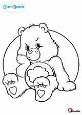 Coloring Bear Grumpy Care Pages Bears Bubakids sketch template