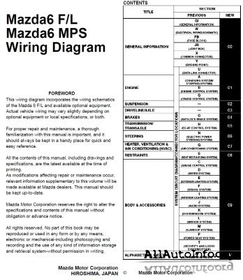 mazda 3 mps wiring diagram mazda 6 mps gg wiring diagram 2002 2007