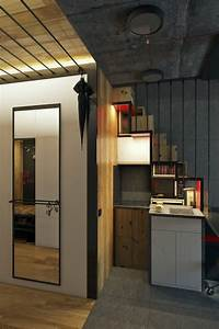 Micro Home Design: Super Tiny Apartment of 18 Square Meters