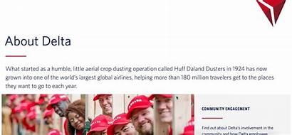 Profile Company Creative Examples Inspire Own Delta