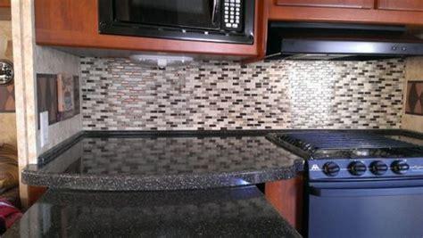 Rv Mods Smart Tiles Self Adhesive Kitchen Tile Backsplash Mod
