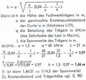 Fachwerkträger Berechnen : bei gro en spannweiten sind stahlfachwerke am wirtschaftlichsten ~ Themetempest.com Abrechnung