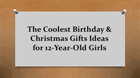 The Coolest Birthday & Christmas Gifts Ideas For 12 Year