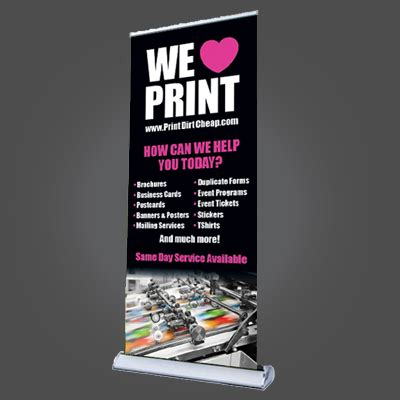 cheap deluxe banner stand  print  cheapest deluxe