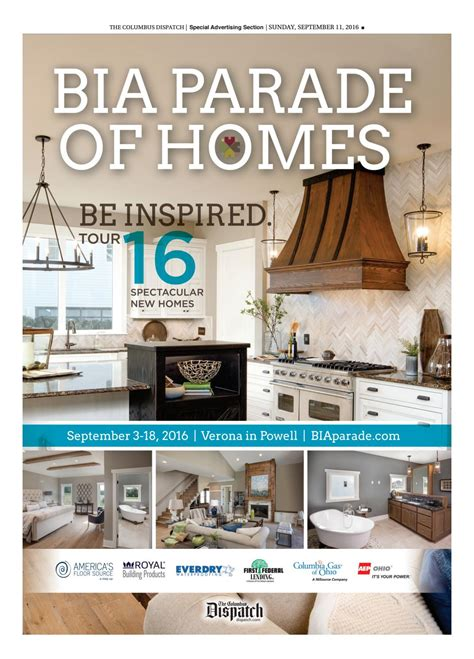 bia parade of homes 2016 by the columbus dispatch issuu