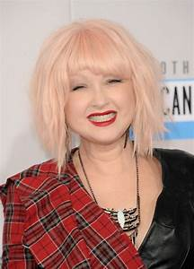 Now: Cyndi Lauper | Now and Then: Stars at the AMAs ...