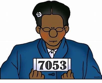 Rosa Parks Bus Boycott Clipart Clip Martin