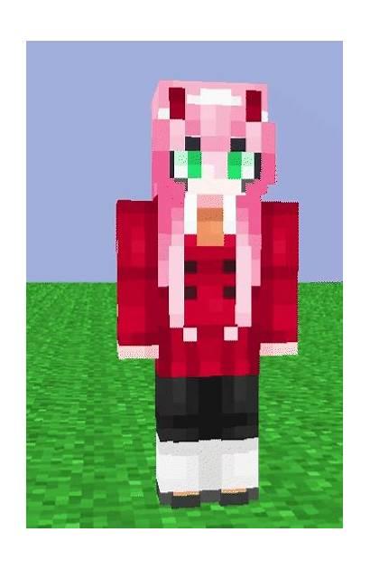 Zero Darling Franxx Skin Minecraft