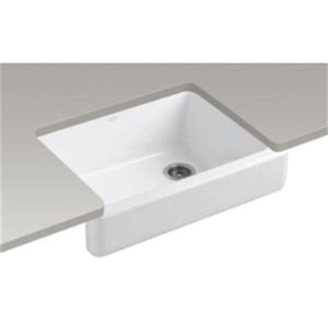 specialty kitchen sinks k6486 0 whitehaven apron front specialty sink kitchen 2425