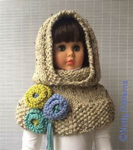 Vermont Hood With Capelet Pattern By Bina Alper