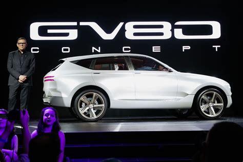 Gv80 Concept Previews Genesis Hydrogen Future Roadshow