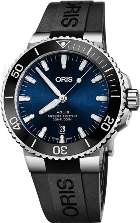 Oris Aquis Date Blue Dial 73377304135RS