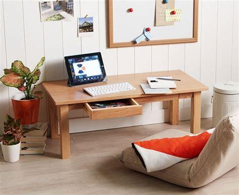 floor l vs table l ash floor table x1 w drawer low japanese style laptop pc desk ebay